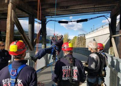 2017-10-7 Rope Rescue Training